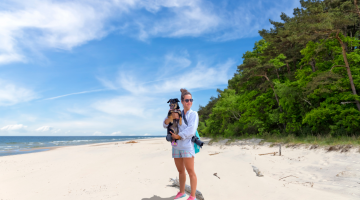 Beach holidays with dogs